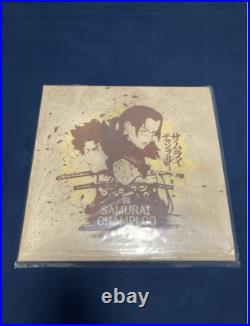 3Lp Samurai Champloo Purple Vinyl Analog Board Nujabes Lo-Fi from Japan NEW