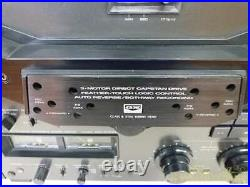AKAI GX-635D Reel-to-Reel Tape Recorders Power Supply Voltage 100V From Japan K