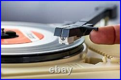 ANABAS audio GP-N3R Nostalgic Portable Vinyl Records Player from Japan