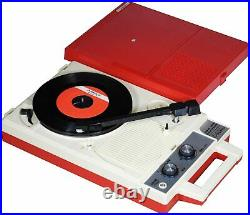 ANABAS audio Portable Record Player GP-N3R Red White NEW from japan