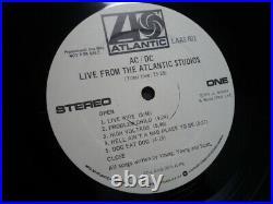 Ac/Dc Live From The Atlantic Studios Lp 1977 December Engineer Jimmy Douglass