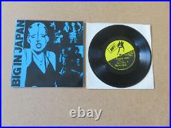 BIG IN JAPAN From Y To Z And Never Again ZOO 1978 UK 1ST PRESSING 7 CAGE 001