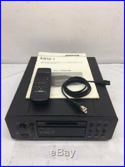 BOSE MDS-1 Black Stage Side Sound Minidisk MD Deck Recorder Audio from Japan