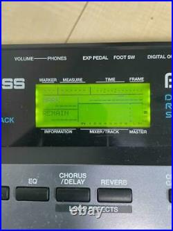 Boss BR-8 Digital Recording Studio 8 track Working Used from Japan