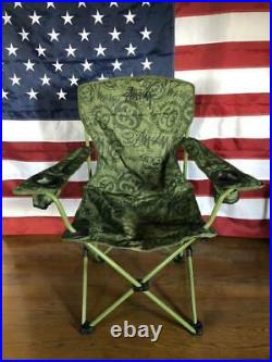 COLEMAN × STUSSY × TOWER RECORDS 2011 Chair Limited quantity from Japan F/S