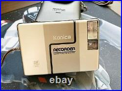 Champagne Konica Recorder Half Frame 35mm Compact Film Camera From JAPAN