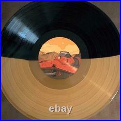 Cowboy Bebop Saib. Bebop Limited Split Color Vinyl Record LP From Japan