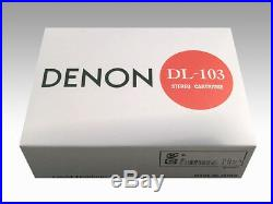 DENON DL-103 MC type Record player cartridge from Japan EMS shipping NEW