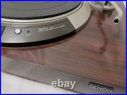 DENON DP-55L Direct Drive Record Player Vintage Used Working Tested From Japan