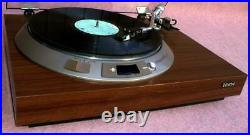 Denon DP-1600 Direct Drive Manual Turntable Record Player Working from Japan