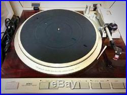 Denon DP-47F Turntable Audio Record Player WithDL-80 MC Cartridge from Japan