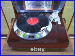 Denon DP-57L Record Player Direct Drive Turntable From Japan Used Adjusted