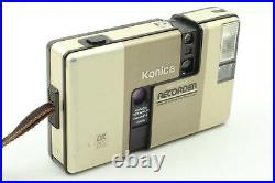 EXC+5 Konica Recorder Half Frame 35mm Point & Shoot Film Camera From JAPAN