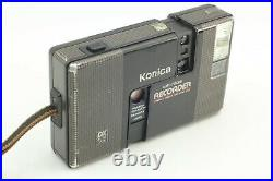 Exc+5 KONICA Auto Focus RECORDER 35mm Half-Frame Point&Shoot Camera From Japan