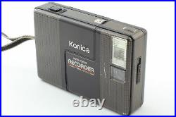 Exc+5 Konica Recorder 35mm Half Frame Point & Shoot Film Camera From JAPAN