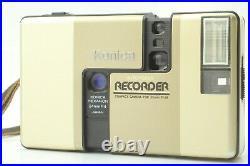 FedEx Near Mint Konica Recorder Half Frame 35mm Film Camera From Japan