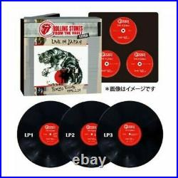 From The Vault Extra live ROLLING STONES 200set JAPAN ONLY LIMITED BOX Rare F/S