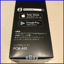 Genuine SONY PCM-A10 PCM Hi-Res Recorder 16GB Bluetooth F/S from Japan NEW