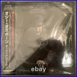 Japan Black Vinyl With Obi Sent From Berlin! Ozzy Osbourne Ordinary Man 2020