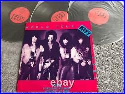 Kiss World Tour 1984 -3 LP Vinyl-Japan japanese pressing from the 80s-Mega Rare