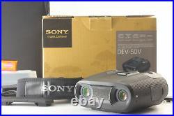 MINT SONY Digital Recording Binoculars DEV-50V 2D 3D GPS From JAPAN