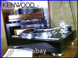 NEAR MINT KENWOOD KP-9010 Auto lift-up record player from Japan #2281