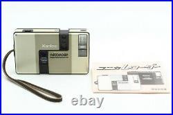 NEAR MINT Konica Recorder Half Frame 35mm Film Camera Gold from Japan #678