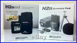 NEW ZOOM H2n Handy Portable Recorder PCM / Accessoary Kit APH-2n from JAPAN