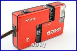 Near MintKonica Recorder Half Frame 35mm Point & Shoot Film Camera from JAPAN