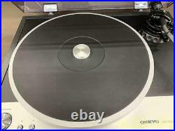 ONKYORecord Player Direct Drive Turntable Used Working from Japan FedEx