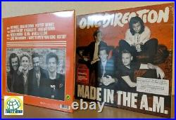 One Direction Made In The A. M. Vinyl Album 2LP 12 Analog Record from Japan AM
