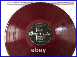 Pink Floyd sound track from the film MORE JAPAN ORIGINAL ODEON RED WAX OP80165