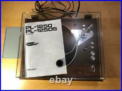 Pioneer PL-1250 Record Player Direct Drive Turntable Used from Japan