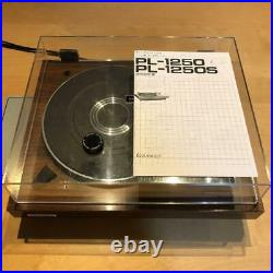 Pioneer PL-1250 Turntable Direct Drive Vintage Record Player from Japan