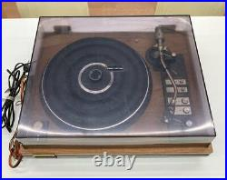 Pioneer PL-1400 Analog Turntable Record Player Direct Drive Tested From JAPAN