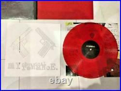 RARE My Chemical Romance Record Revenge Near Mint from Japan