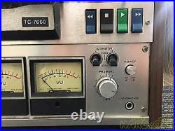 SONY 14395 TC-7660 Reel-to-Reel Tape Recorders Power Supply 100V From Japan K