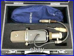 SONY C-38B C38B Multi-Pattern Condenser Microphone Case from japan used