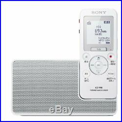 SONY ICZ-R110 Portable radio recorder, Linear PCM, MP3, 16GB FM / AM from Japan