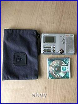 SONY MZ-B10 MD Minidisc Recorder MDLP From Japan Free Shipping