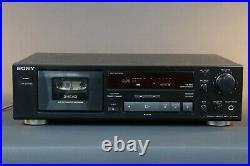 SONY TC-K 490 three heads, Dolby B, C cassette recorder from HIFI Vintage
