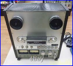 SONY TC-R7-2 Reel-to-Reel Tape Recorders Power Supply Voltage 100V from Japan K
