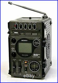 SONY TV-FM/AM RADIO CASSETTE RECORDER MULTI-FUNCTION FX-300 JACKAL from japan
