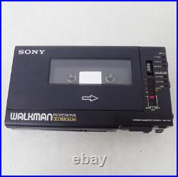 SONY WM-D6C Walkman Professional Cassette Player Recorder Tested From JAPAN
