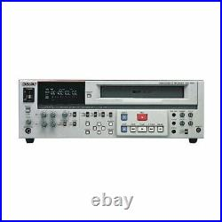 Sony S-VHS Video Cassette Recorder SVO-5800 Professional Used from japan