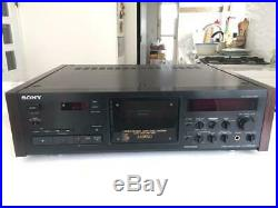 Sony TC-K333ESG 3-Head Cassette Tape Deck Recorder Free Shipping From Japan Used