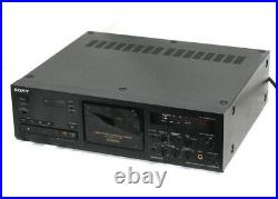 Sony TC-K333ESG 3-Head Cassette Tape Deck Recorder USED From Japan