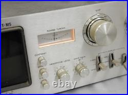 Sony VT-M5 Audio Scope TV Tuner From Japan Used