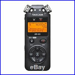 TASCAM DR-05 Linear PCM Portable Digital Recorder F/S withTracking# New from Japan