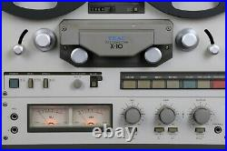 TEAC X10 reel to reel tape recorder with spools from HiFi Vintage